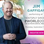 Comedian Jim Gaffigan is joining the roll of celebrity entertainment at Dentsply Sirona World 2018